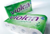 """Toilettenpapier Kleinrolle """" Fripa Violan"""" hochweiß"""