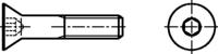 DIN 7991 Senkschrauben mit Innensechskant 8.8 zn M10x120mm HP