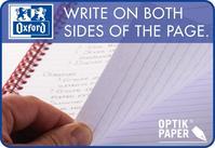 Oxford Metallics Notebook Wirebound Polypropylene Ruled 180pp 90gsm A4 Blue Ref 400051876 [Pack 5]