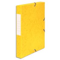 5 ETOILES Bo�te de classement � �lastique en carte lustr�e 7/10, 600g. Dos 40mm. Coloris jaune.