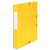 5 ETOILES Boîte de classement à élastique en carte lustrée 7/10, 600g. Dos 40mm. Coloris jaune.