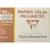 CLAIREFONTAINE Pochette de 12 feuilles 90g papier millimétré Ref-96554