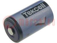 Batterie: Lithium; 3,6V; 1/2AA; Ø14,3x24,6mm; 1200mAh