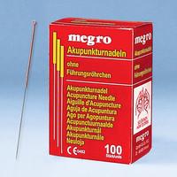 Akupunkturnadeln A1 mit Kupfergriff Megro 0,22 x 25 mm ( 100 Stück ), Detailansicht