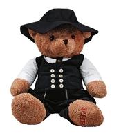 KURT Teddy Groß 110cm, schwarz, Gr. 110 cm