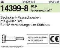 Sechskant-Paßschrauben M20x115
