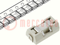 Zekering: smeltveiligheid; traag; keramisch; 1A; 125VAC; 125VDC