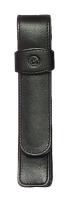 Schreibgeräteetui TG11, 20 x 130 x 20 mm, Rindnappa-Leder, schwarz