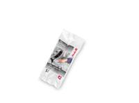 Hailo Müllbeutel, weiß, 5 Liter. Reißfest, flüssigkeitsfest, blickdicht. Bild 1