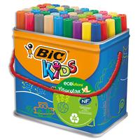 BIC Baril de 48 feutres Visacolor couleurs assorties