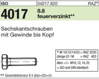 ISO4017 M10x50
