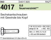 ISO4017 M16x140