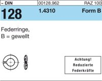 Federringe B8