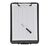 Clipboard A4 plastic with pocket, narrow