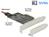 PCI Express x4 Karte an 1x intern M.2 Key B + 1x intern NVMe M.2 Key M – Low Profile Form Faktor, Delock® [89558]
