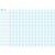 ART PLUS Carte grand Seyès avec marge en Polypro 5/10è, effaçable à sec - format 140 x 100 cm