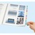 AVERY Lot 4 planches de 24 touches soit 96 onglets personnalisables repositionnables.Manuscrit/imprimable
