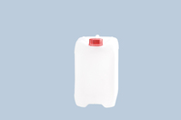 Industrial jerrycan 10 L, HD-PE natural-coloured, with UN certification