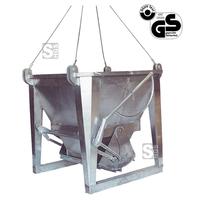 Modellbeispiel: Betonsilo -B1031A- mit Handhebelbetätigung und Seilstropp, (Art. 30240)