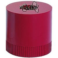 Klammerspender Clip Boy 2000, weinrot