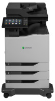 Lexmark CX860dte - Multifunktion (Faxgerät/Kopierer/Drucker/Scanner) - Farbe, Laser, Duplex