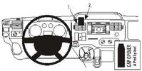 Brodit Fahrzeughalter ProClip für Ford Transit 07-13