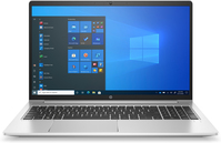 "HP ProBook 450 G8 DDR4-SDRAM Notebook 39,6 cm (15.6"") 1366 x 768 Pixels Intel® 11de generatie Core™ i5 8 GB 256 GB SSD Wi-Fi 6 (802.11ax) Windows 10 Pro Zilver"