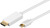 Mini DisplayPort > HDMI+ Kabel 2,0 Meter, Mini Displayport Stecker > HDMI+ A-Stecker