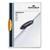 DURABLE Chemise de présentation Swingclip à clip pivotant forme ellipse - 1 à 30 feuilles A4 - Orange