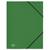 5 ETOILES Chemise 3 rabats et �lastique en polypropyl�ne 4/10e vert