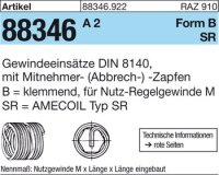 AMECOIL-Gew.einsätze BM10x10