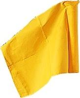 Sport-Thieme® Fahne für Grenzstange ø 50 mm, Gelb