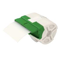 Endlos-Etikettenkassette Icon, permanent klebend, Plastik, 88 mm x 10 m, weiß