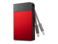Buffalo MiniStation Extreme Water&Dust Resistant USB 3.0 1TB Portable HDD Red Bild 1