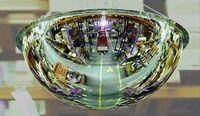 Panoramaspiegel PS 360-9, aus Acrylglas, 360°, zur Deckenmontage, Anwendungsbeispiel