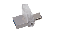 Kingston Technology DataTraveler microDuo 3C 64GB unità flash USB USB Type-A / USB Type-C 3.2 Gen 1 (3.1 Gen 1) Nero