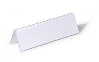 Durable 805219 non-metallic nameplate Transparent