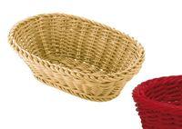 SALEEN Korb oval, 26x18,5x9 cm, rubinrot Die Marke saleen® der Firma Westmark