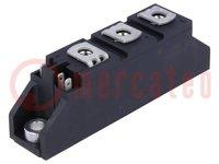 Module; thyristor/thyristor; 1,2kV; 116A; TO240AA; Ufmax:1,5V