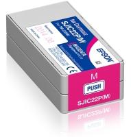 Epson SJIC22P(M): Ink cartridge for ColorWorks C3500 (Magenta) Bild 1