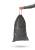 Hailo Müllbeutel mit Zugband, schwarz, 30 Liter. Reißfest, flüssigkeitsfest, blickdicht. Bild 2