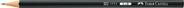 Bleistift 11 11 Härtegrad: 2B, Schaftfarbe: schwarz