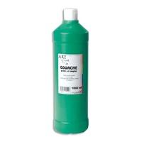 ART PLUS Gouache liquide 1 litre Vert moyen prete a l'emploi