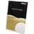 DEFLECTO Porte affiche transparent pour documents A4 portrait incliné