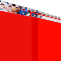 PVC-Streifenvorhang Bild 1