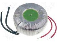 Transformator: Ringkern; 100VA; 230VAC; 12V; 8,33A; 1,1kg; Ø:92mm