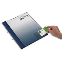 DURABLE Sachet 10 Pochettes adhésives Pocketfix ouverture latérale - L90 x H57 mm