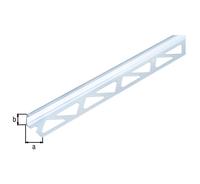 Fliesen Abschlussprofil Alu Silber Elox Lxbxh 1000x23 5x12 5mm Bei
