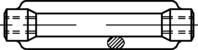 DIN 1480 Spannschlossmuttern zn M8mm