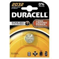 Duracell Lithium CR2032 Knopfzelle (1er Blister)